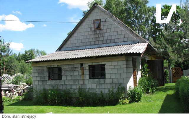 Projekt domu, rozbudowa, Lenartowicz Architekt