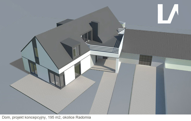Projekt domu, rozbudowa Lenartowicz Architekt
