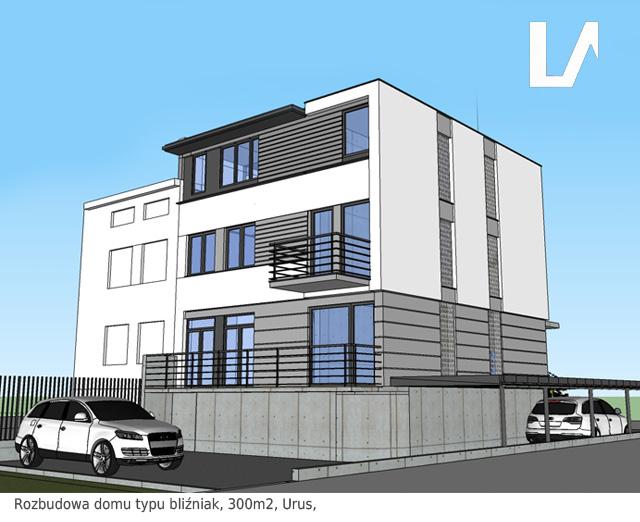 projekt rozbudowy domu Ursus