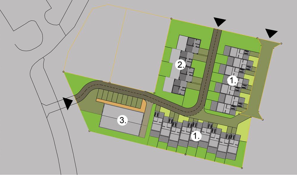 Osiedle domów letniskowych, Rewal