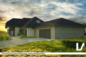 projekt domu radzymin