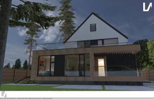 Rozbudowa domu Warszawa Wawer